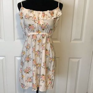 Cream floral print dress by Rue21